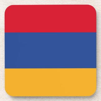 Armenische Flagge Untersetzer