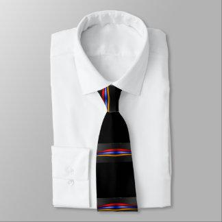 Armenische Flaggen-Krawatte auf schwarzem Եռագույն Personalisierte Krawatte
