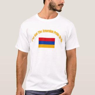 Armenische patriotische Flaggenentwürfe T-Shirt