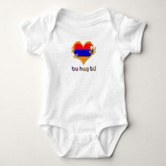 Armenischer Baby-Jersey-Bodysuit Baby Strampler
