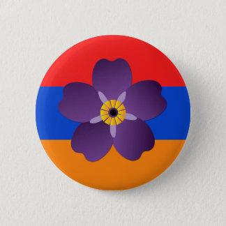 Armenischer Genozid-hundertjähriges Emblem u. Runder Button 5,1 Cm