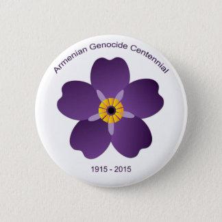 Armenisches Genozidcentennial-Emblem Runder Button 5,1 Cm