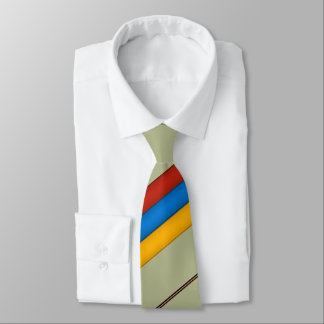 Armenisches Tricolour Krawatte Եռագույն