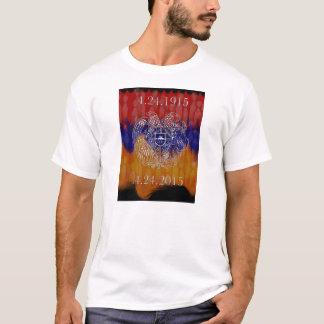 Armenisches Wappen 100 Jahre stärkere T - Shirt- T-Shirt