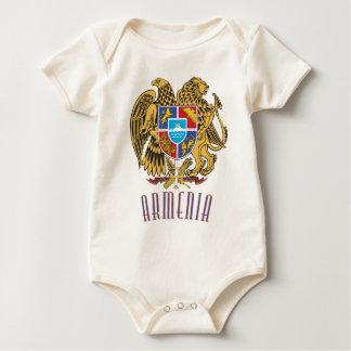 Armenisches Wappen Baby Strampler