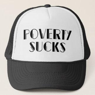 Armut ist zum Kotzen - wohlhabender Milliardär Truckerkappe