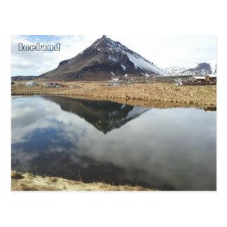 Arnarstapi und Mt. Stapafell, Island Postkarte