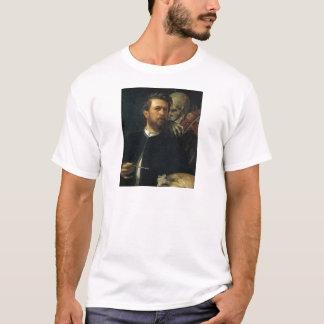 Arnold Böcklin - Selbstporträt mit Tod T-Shirt