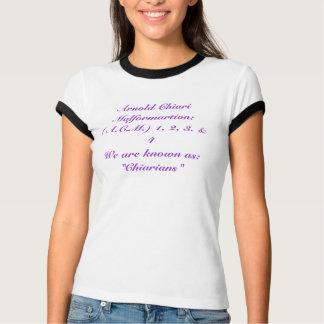 Arnold Chiari Malformartion: (A.C.M.) 1, 2, 3.… T-Shirt