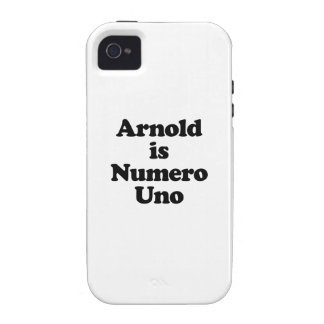 Arnold ist Numero UNO Vibe iPhone 4 Case