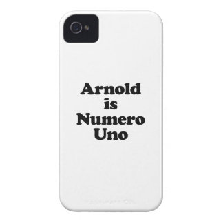 Arnold ist Numero UNO Case-Mate iPhone 4 Hüllen