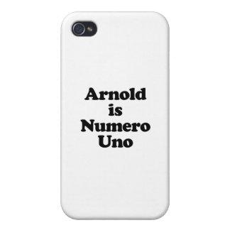 Arnold ist Numero UNO iPhone 4/4S Hüllen