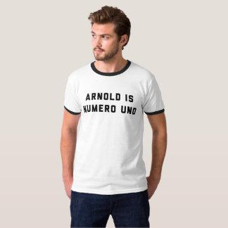 Arnold ist Numero UNOWeightlifting T-Shirt