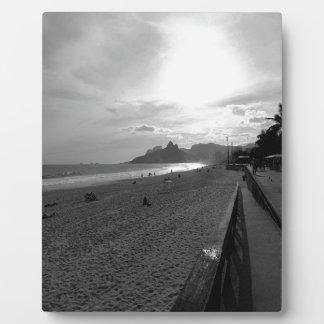 Arpoador Strand Rio de Janeiro Fotoplatte
