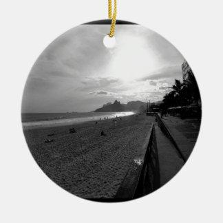 Arpoador Strand Rio de Janeiro Keramik Ornament