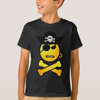 ARRGH! Smiley - GRR Emoticon-Pirat T-Shirt