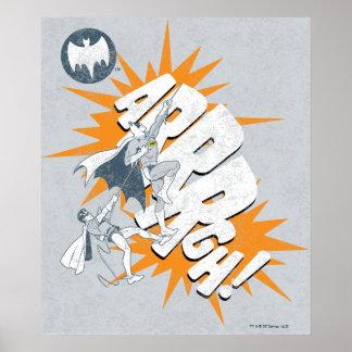 ARRRGH Batman und Robin-Aufstiegs-Grafik Posterdrucke