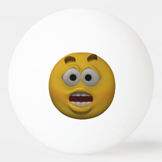 Art3d ängstlichEmoticon Ping-Pong Ball