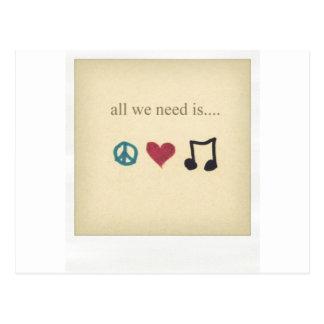 art-cute-inspirational-love-music-Favim.com - Postkarte