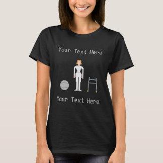 Art der Physiotherapie-kundenspezifische T-Shirt