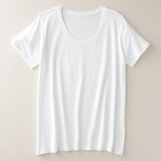 Art: Der Plus-Size-grundlegender T - Shirt der
