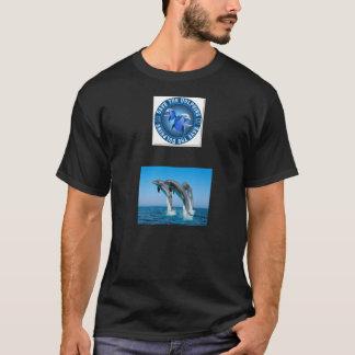 """Art: Grundlegender T - Shirt mit Logo """"retten die"""