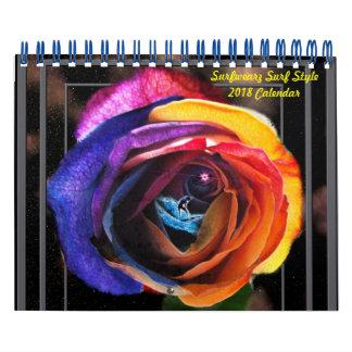Art-Kalender der Brandungs-2018 Abreißkalender
