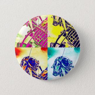 Art-Kunst-Skelett Runder Button 5,7 Cm