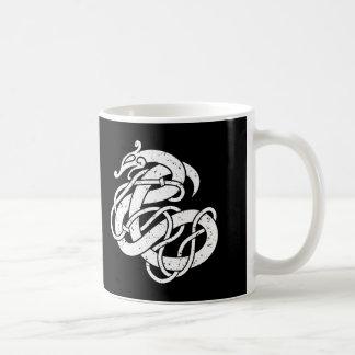Art-Schlange Vikings Urnes Kaffeetasse
