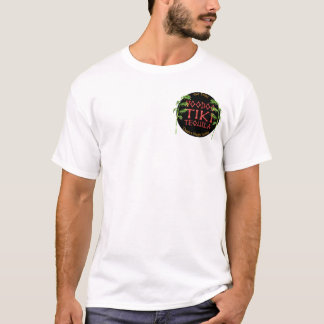 Art-Shirt Voodoo Tiki TequilaJohnny Tiki Jersey T-Shirt