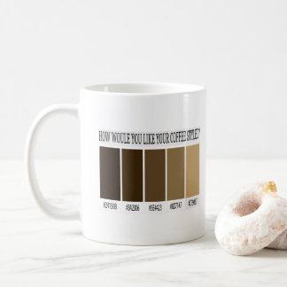 Art-Tasse Kaffee HTML CSS Kaffeetasse