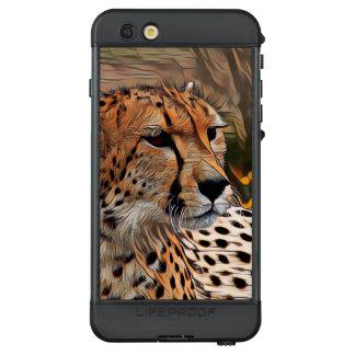 ArtAnimal Gepard LifeProof NÜÜD iPhone 6s Plus Hülle