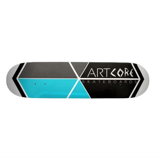 ArtCore-Skateboards/ Big Logo BLUE Individuelle Skatedecks