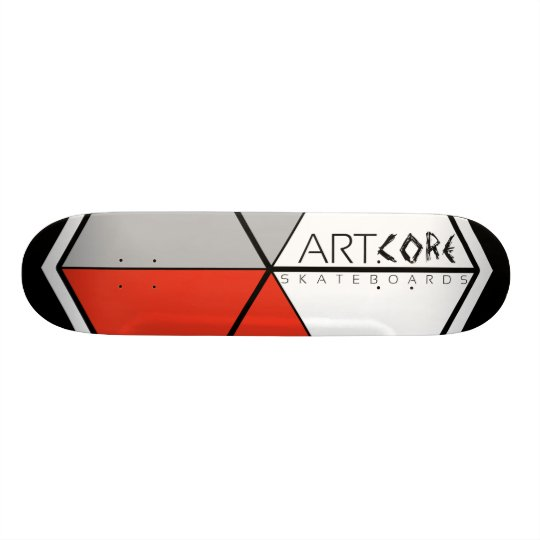 ArtCore-Skateboards/ Big Logo RED Skateboarddecks