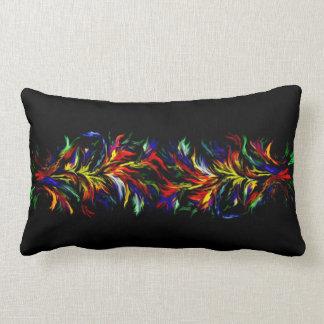 Artdeco in der Regenbogen-Art Lendenkissen