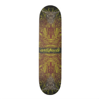 Artefakte - Plattformgottheitskonzept 2 Skateboard Deck