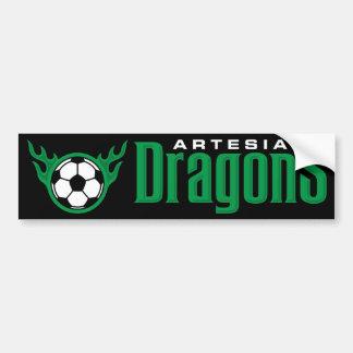 Artesia Drache-Autoaufkleber