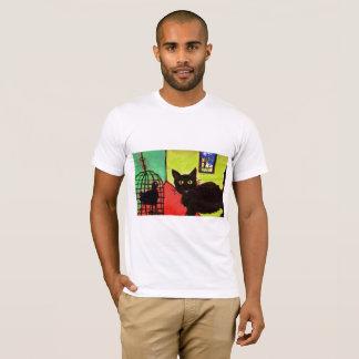 arthouse Haustier-T - Shirtkatze mit Vogel T-Shirt