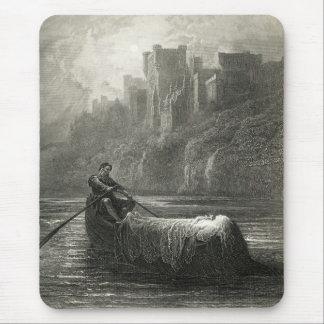 Arthurian Legende: Der Körper von Elaine Mauspads