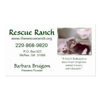 Artic & Babys 2 frms, Rettungs-Ranch, Rettung… Visitenkarten
