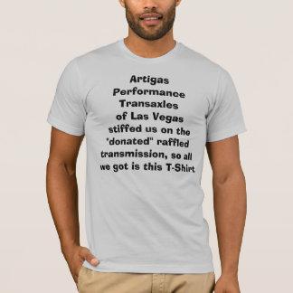 Artigas Leistungs-Transachsen T-Shirt
