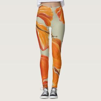 "Artisan_Wear - Yoga-Hosen ""im Hibiskus "" Leggings"
