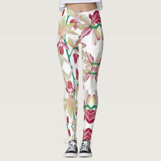 """Artisan_Wear - Yoga-Hosen """"in den Orchideen """" Leggings"""