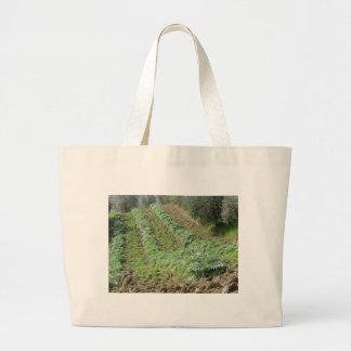 Artischockenplantage auf Rolling Hills Jumbo Stoffbeutel