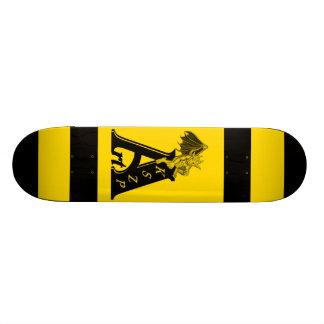 ArtKSZP Logo mit Kleine Golem schwarz gelb design Individuelles Deck