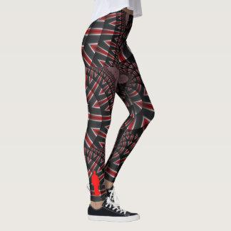 #ArtOfTheDojo Fraktalgamaschen Leggings