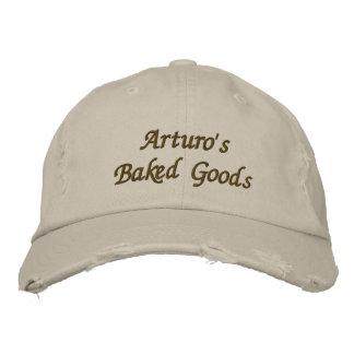 Arturo gebackene Waren u. mehr Bestickte Kappe