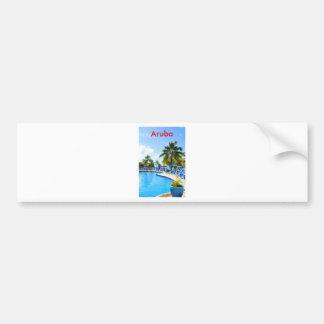 Aruba Autoaufkleber