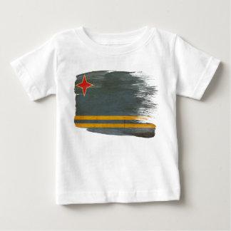 Aruba-Flagge Baby T-shirt