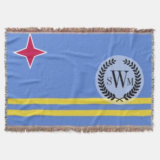 Aruba-Flagge Decke